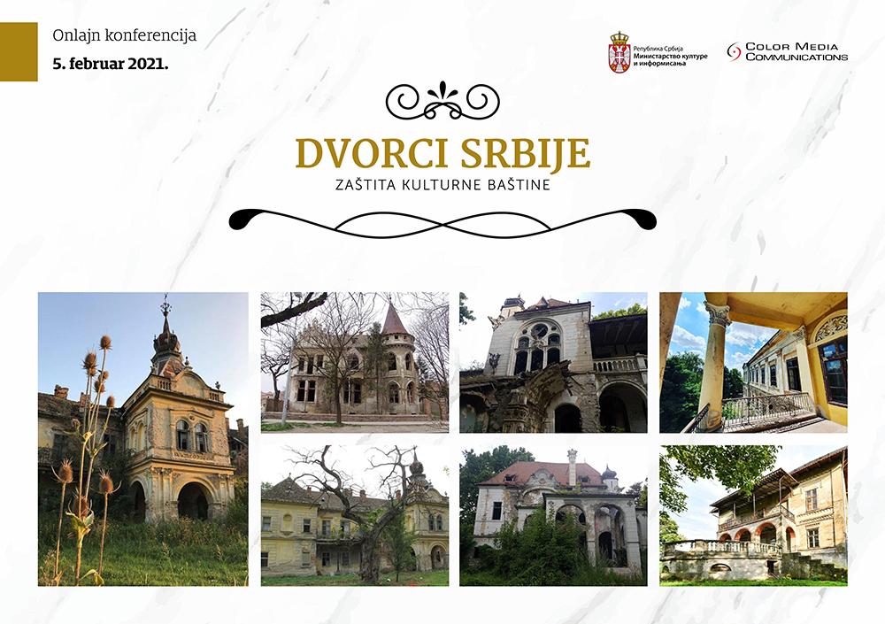 Dvorci Srbije - zaštita kulturne baštine