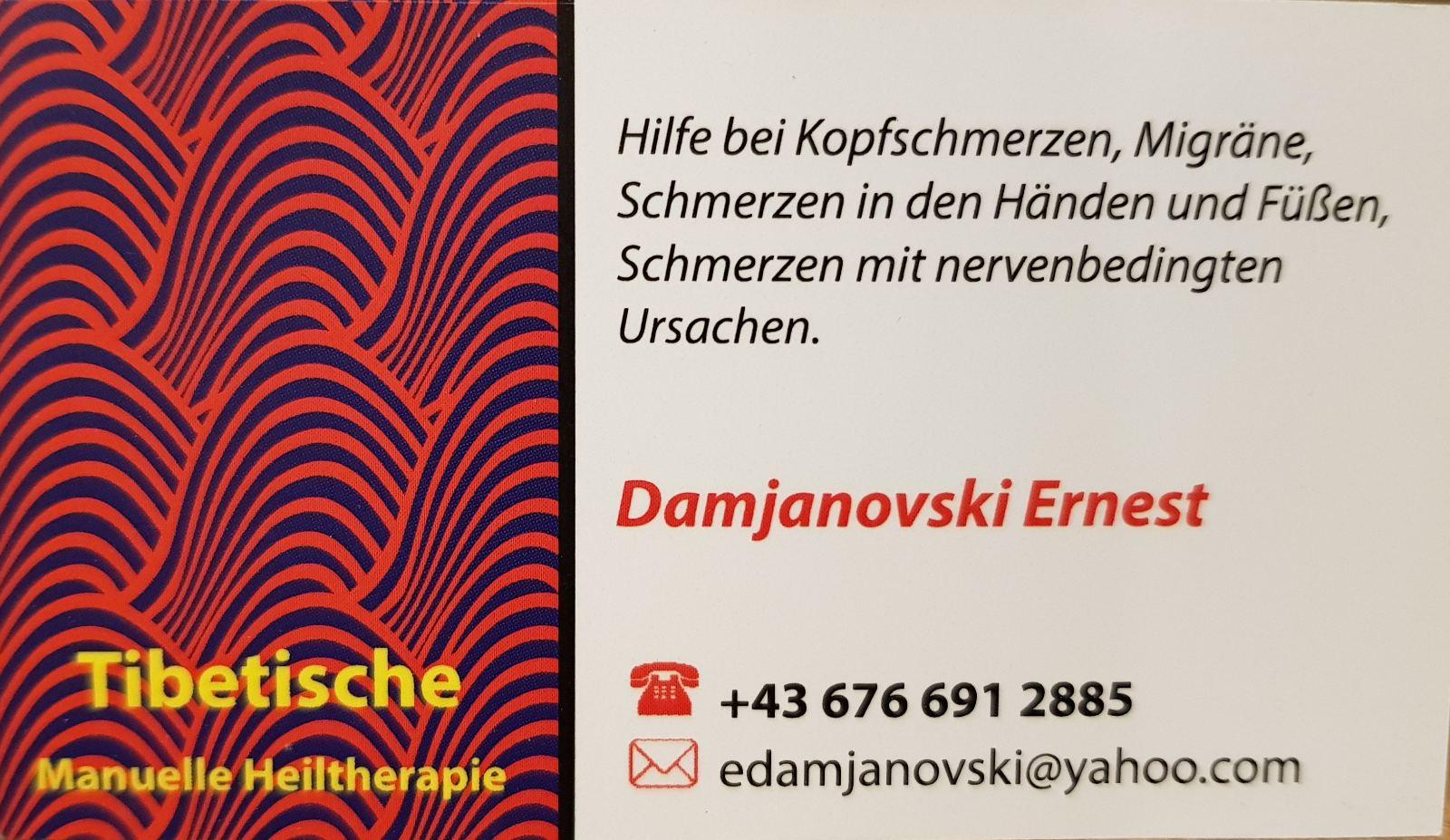 Makedonac u Beču - Ernest Damjanovski