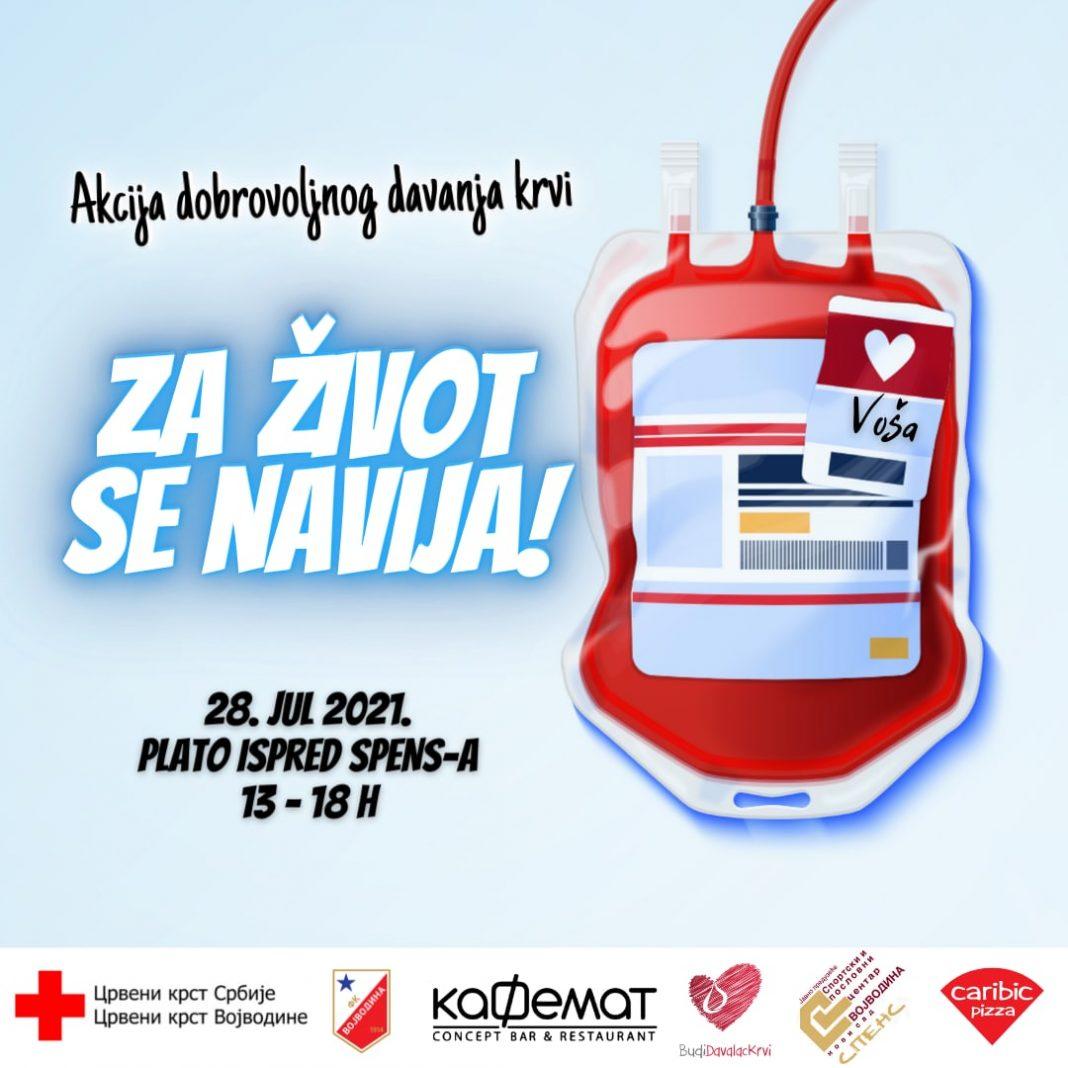 davanje krvi 28 jul spens